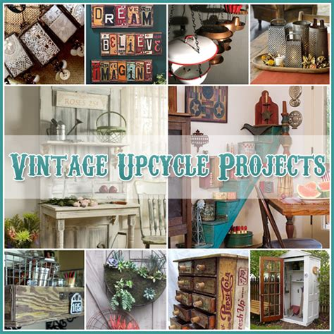 vintage diy projects vintage upcycle project diy s the cottage market