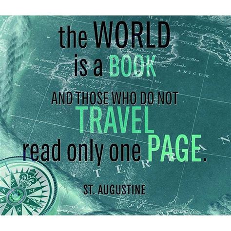 read one the world is a book and those who do not travel re