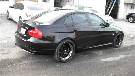 bmw 3 series black rims dubsandtires 20 inch xo wheels barcelona black wheels