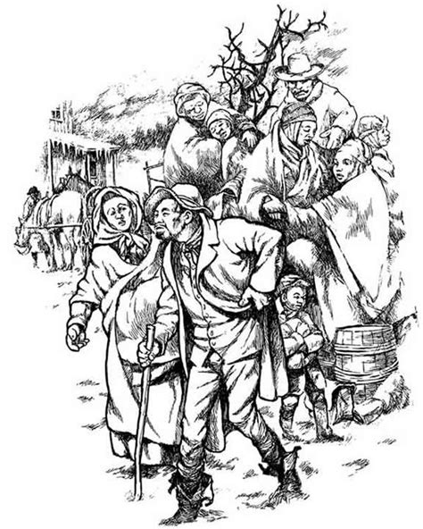 the underground railroad coloring pages