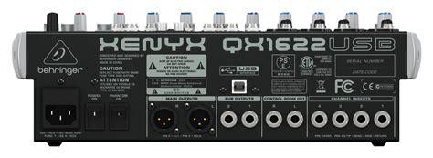 Mixer Behringer Baru jual behringer xenyx qx1622usb qx 1622 usb mixer with soundcard and fx digital musik