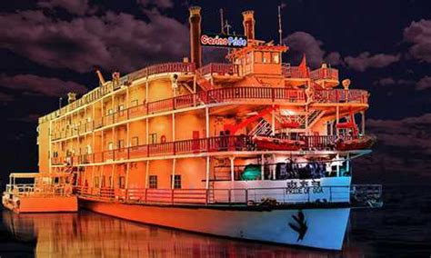 boat house in goa cruise in goa goa cruise package party casino rates