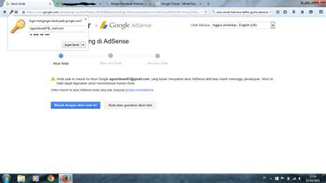 tidak bisa membuat account gmail account gmail tidak bisa daftar google adsense pengetahuan