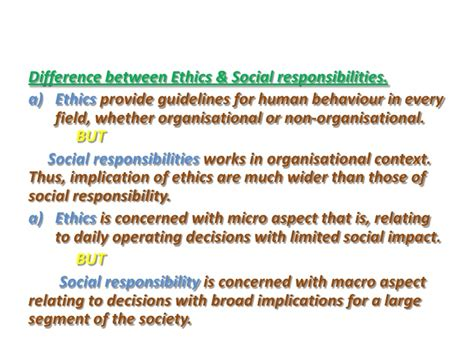 Responsibilities Of Business by Social Responsibility Of Business Management Ethics