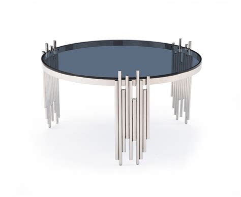 glass and stainless steel coffee table modern coffee table with tempered glass and