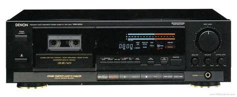Stereo Cassette Deck by Denon Drm 800 Manual Stereo Cassette Deck Hifi