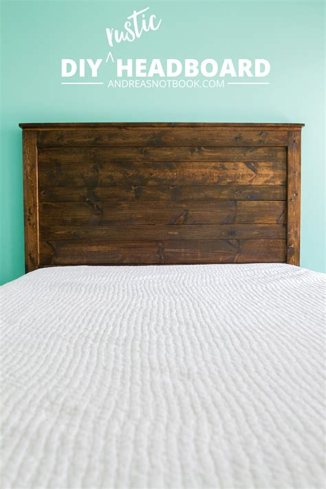 how to make a rustic headboard sweetly scrapped home diy rustic headboard ideas