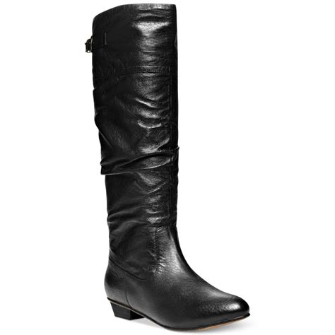 boot shaft height steve madden craave shaft boots in black lyst