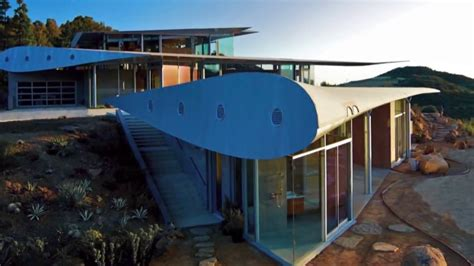 All Aboard 747 Wing House Made Out of Old Plane