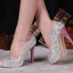Wedding Shoes Size 11 Stunning Heel Peep Toe Shoes Collection Ideas For Brides 4 Stylishmods Com