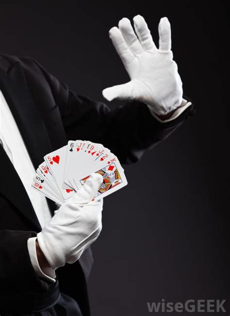what are the different types of magic tricks with pictures
