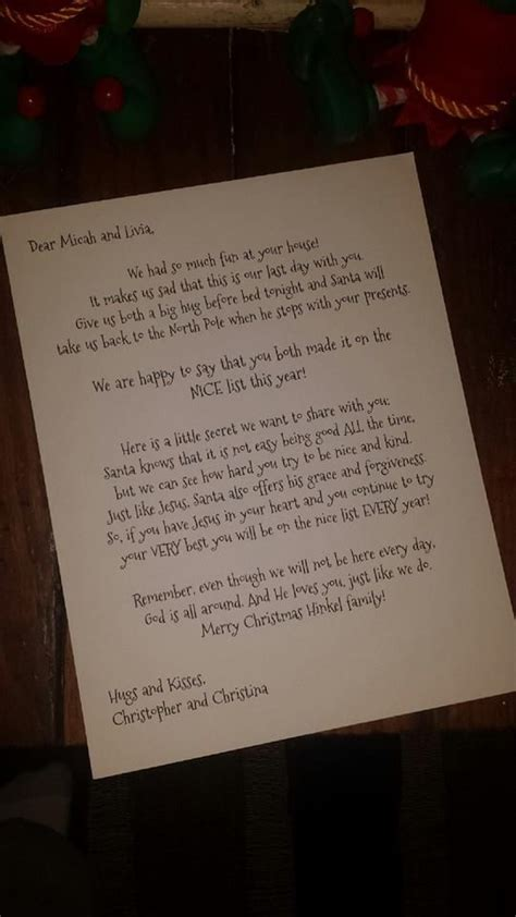 Letter From On The Shelf Idea by 17 Best Ideas About Goodbye Letter On
