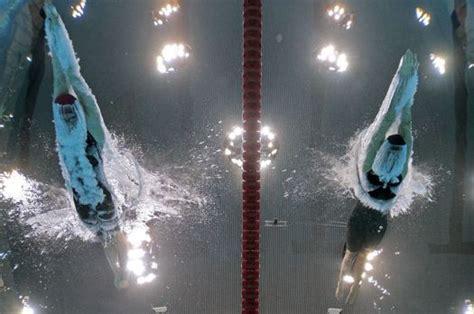 Wardrobe At The Olympics by Pool Providing Some Breathtaking At The