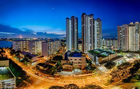 wallpaper singapore skyline singapore teban garden
