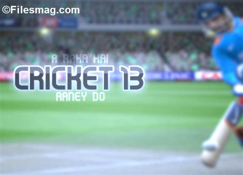 ea sports games 2013 free download full version for pc ea sports cricket 2013 game free download updated for