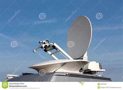 parabolic antenna satellite communications stock photo image 33375220