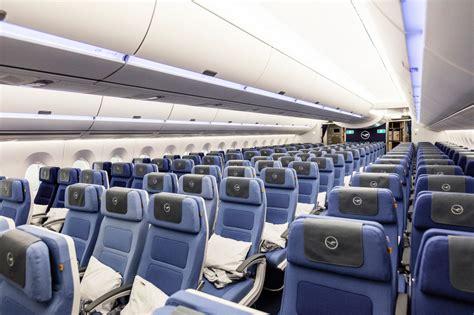 a350 cabin inside lufthansa s new airbus a350 australian business
