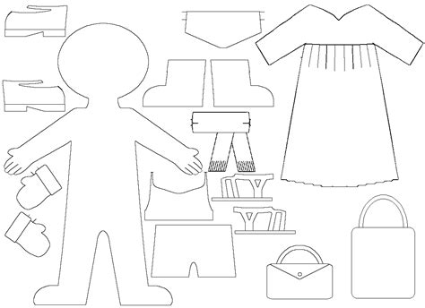 paper doll dress up template 1000 images about book ideas for e on