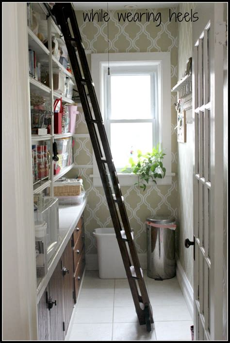 Pantry Ladder by Welcome To Inspiration Friday No 90 At The Picket Fence