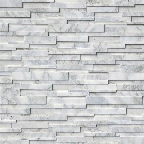 stacked tile tez marble calacatta cressa 3d stacked veneers san francisco san jose