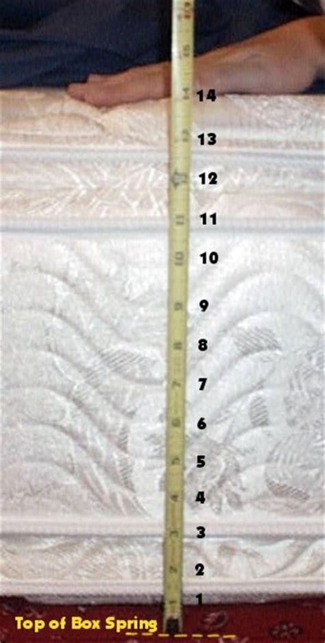 Mattress Depth by Custom Bedding Adjustable Split Top Rv X