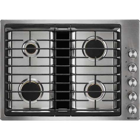 Best Gas Cooktop With Downdraft 30 jx3 gas downdraft cooktop jenn air
