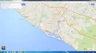 newport california map