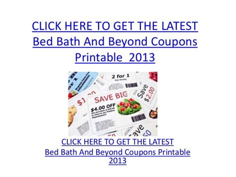 bed n bath beyond bed bath and beyond coupons printable 2013 bed bath and beyond cou
