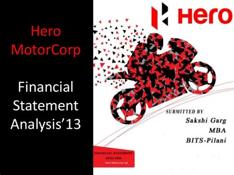 motor finance corp financial analysis of motorcorp 13 ppt