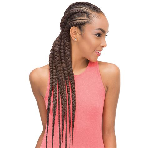 expression 3x caribbean hair janet collection 3x banana braid 86 quot hairmall ca