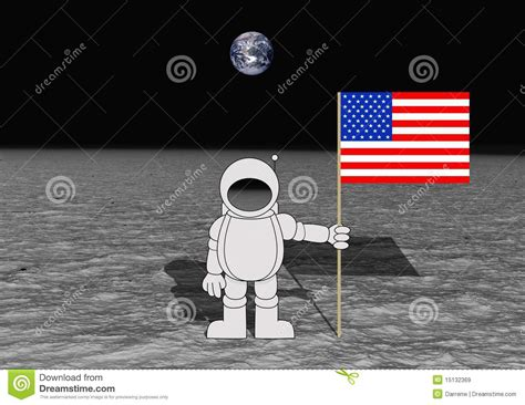 moon landing royalty free stock images image 15132369