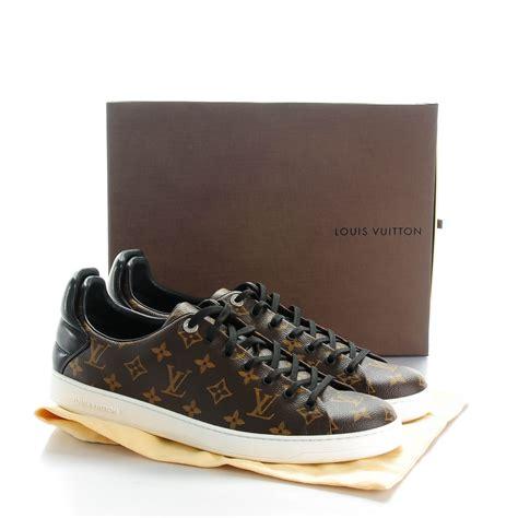 louis vuitton mens sneaker shoes louis vuitton mens monogram frontrow sneakers 12 142995