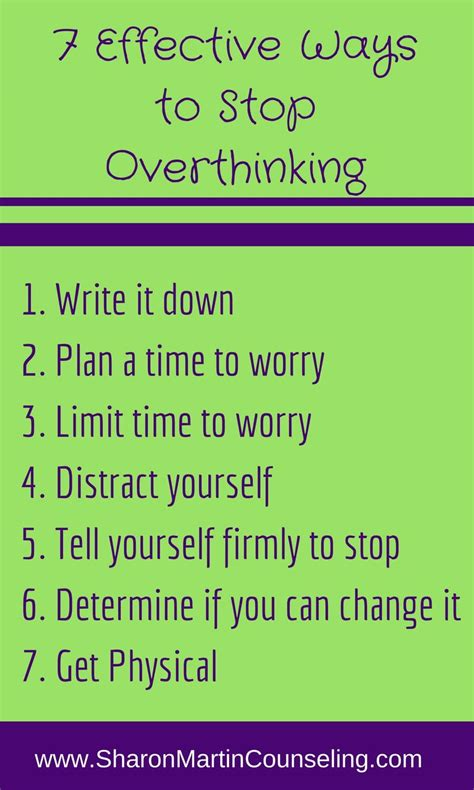 Outside Doormat 7 Effective Ways To Stop Overthinking Happily Imperfect