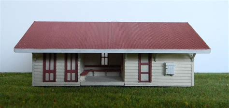 qr imbil station kit ho scale model buildings