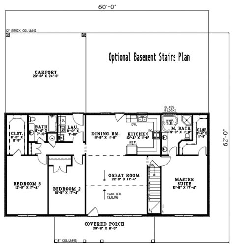 1800 Sq Ft Ranch House Plans Ranch Style House Plan 3 Beds 2 Baths 1800 Sq Ft Plan 17 2141