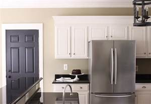 Kitchen Wall Paint Color Ideas With White Cabinets The Yellow Cape Cod My Kitchen Makeover Reveal