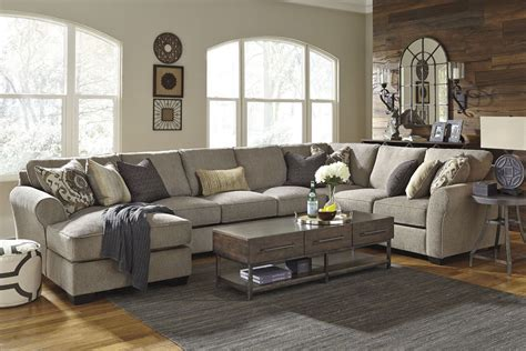 pantomime right chaise sectional pantomine driftwood laf large chaise sectional from