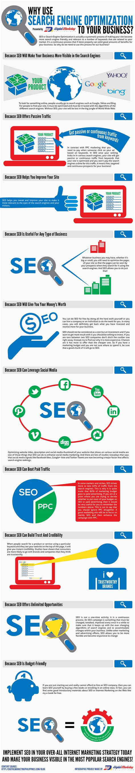 Business Email Search Engine Why Use Search Engine Optimization To Your Business Infographic