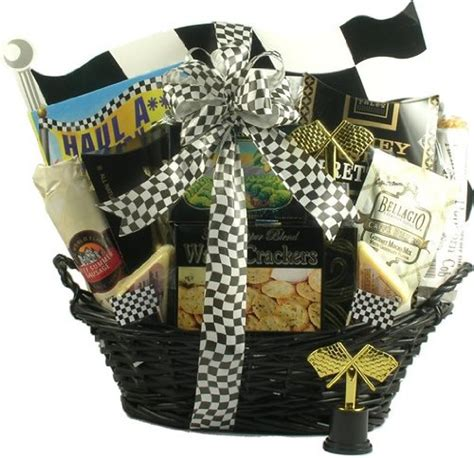 gifts for nascar fans the 1 race fan s finest treats nascar gift basket for