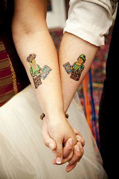 lego tattoo couple lego tattoo on pinterest lego tattoo lego camera and lego