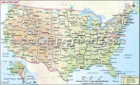 america cities map us map with cities and towns www proteckmachinery