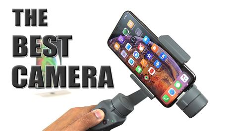 iphone xs max test with dji osmo mobile 2 best i ve tested 4k 60fps