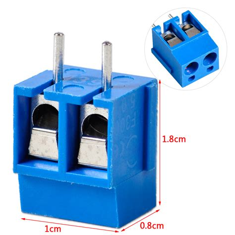 Pcb Connector 3 Pin 5mm Pitch Terminal Block Ctb5000 Blue 50pcs in terminal block connector 5mm pitch pcb