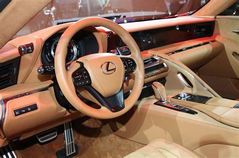 lexus lc interior by design lexus lc 500