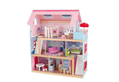 doll house pieces kidkraft chelsea doll house with 17 pieces of furniture toys and games irelandtoys