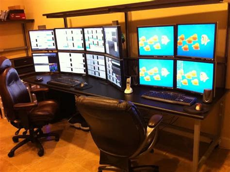 Day Trading Computer Setup 8x Monitors Wish List Computer Desk Setups