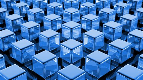 wallpaper blue cube 3d cube wallpaper 2042 1920 x 1080 wallpaperlayer com