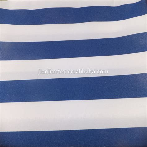 striped awning fabric waterproof polyester striped awning curtain fabric canvas