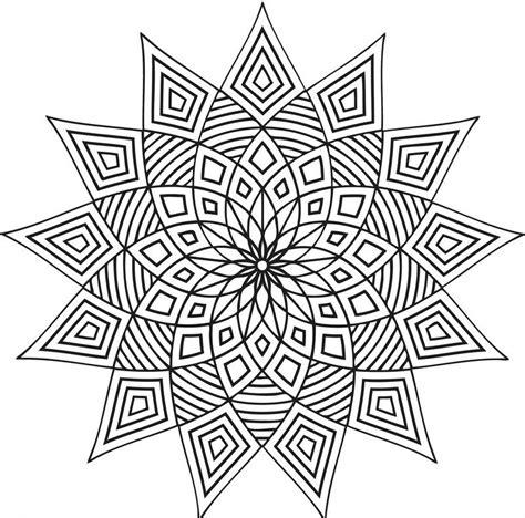 complex coloring page designs coloriage 224 imprimer mandala en 40 mod 232 les 224 croquer