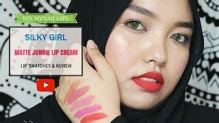 Silkygirl Matte Junkie Indonesia silkygirl matte junkie lip swatches review make